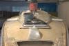 Sandwichkern bereits entfernt, Faserverstärkungen der unteren Lage zugeschnitten