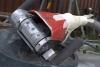 Gelplane, Handmaschine zum entfernen des Gelcoats